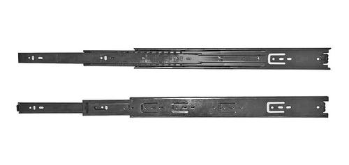 Imagem 1 de 2 de Trilhos Telescopico H38 Inox 350mm - 2568 Abraplac