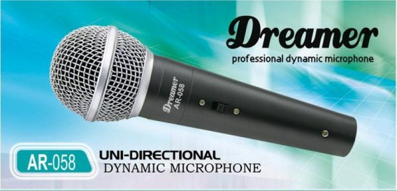 Microfone Profissional Dreamer Ar 058