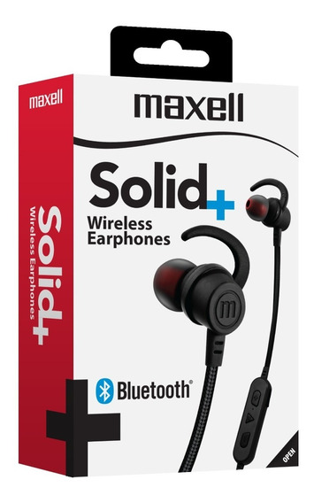 Maxell Audifo Solid Eb-bt100 Inalamb Bluetooth C/ Mic Carbon
