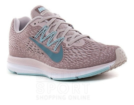 Zapatillas Nike Air Zoom Winflo 5 Mujer Running Aa7414-602