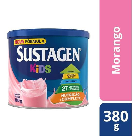 Sustagen Kids Nutrição Infantil 380g Morango