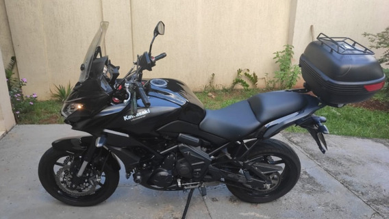 Kawasaki Versys 650 Cc Preta