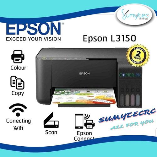 Impresora Epson L3150 Wifi Sistema Continuo De Fábrica
