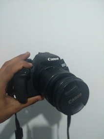 Camera Canon T5 Profisional Semi Nova Com Nota Fiscal.