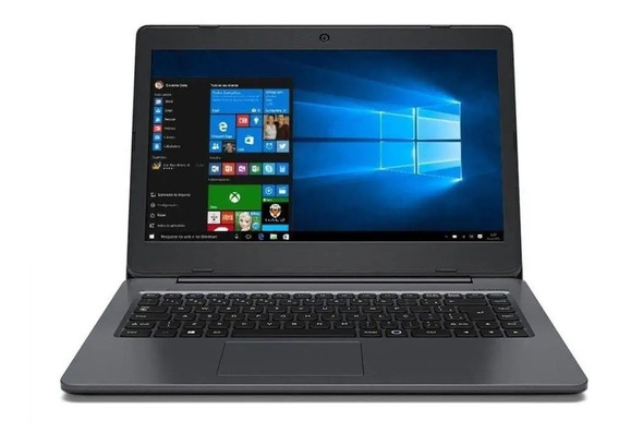 Notebook Positivo Intel Dual Core 4gb Windows Hdmi - Novo