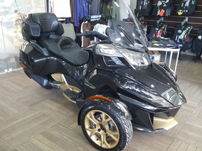 Triciclo Can-am Spyder Rt Ltd 10anos 2018 Com 104km