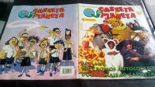 Álbum Figurinhas Casseta & Planeta Completo C/ Tazos -panini