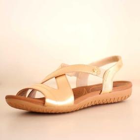 76756b858 Novo Tamanco Sandalia Usaflex Dourado Feminino - Sapatos no Mercado ...