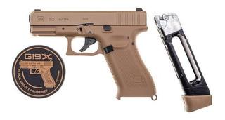 Pistola Glock 19 Co2 Coyote 4,5 Mm Semi-auto Palermo