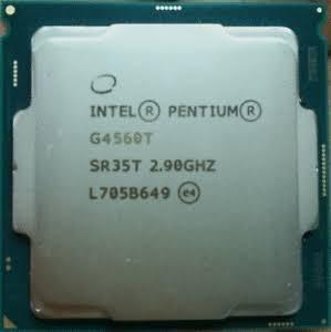 Processador Intel Pentium G4560t 2,9 Ghz Novo