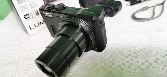 Camera Digital Lumix Tz60 Superzoom 60x Seminova