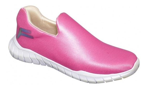 Tenis Casuales Color Fiusha Mujer Textil-mod.0358fe5354156