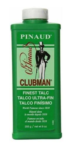 Imagen 1 de 5 de Talco Clubman Pinaud 255g, Talco Para Barberia