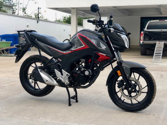 Honda Cb160f Como Nueva 2019