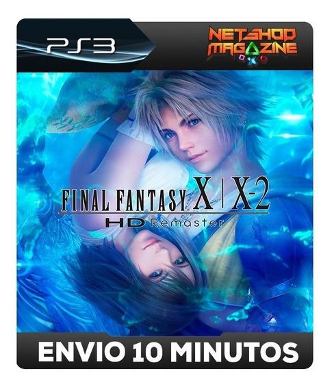 Final Fantasy X/x-2 Hdremaster - Psn Ps3 - Envio Imediato