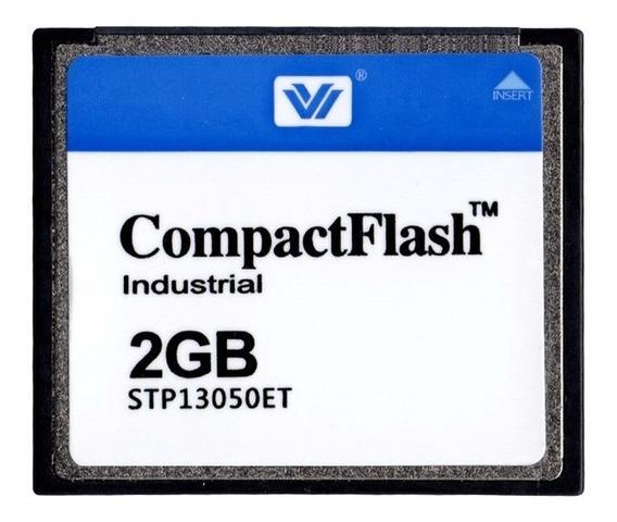 Cartão Compact Flash 2gb Industrial Stp13050et
