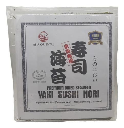 Algas Nori Para Sushi X10 Hojas
