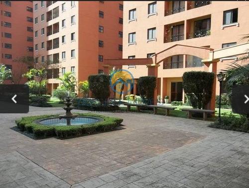 Apartamento Para Venda Em São Paulo, Vila Do Castelo, 2 Dormitórios, 1 Banheiro, 1 Vaga - Ap093_2-1156160