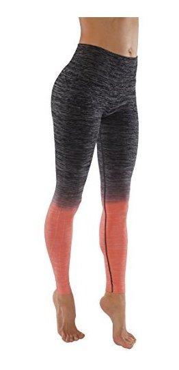 Pantalones De Yoga Flexibles Para Mujer Ombre Legging Active