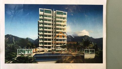 Apartamento Com 3 Dormitórios À Venda, 87 M² Por R$ 450.000,00 - Massaguaçu - Caraguatatuba/sp - Ap0061