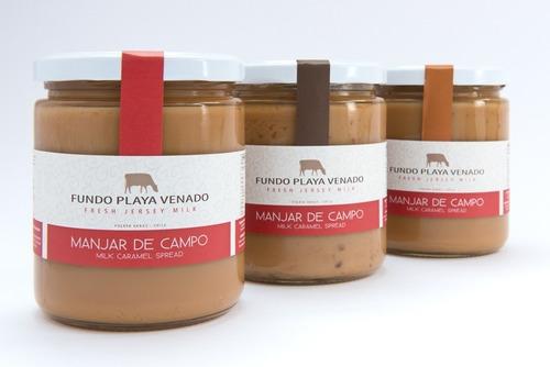 Pack X3 De Sabores Manjar Playa Venado Lúcum, Nuez, Tradicio