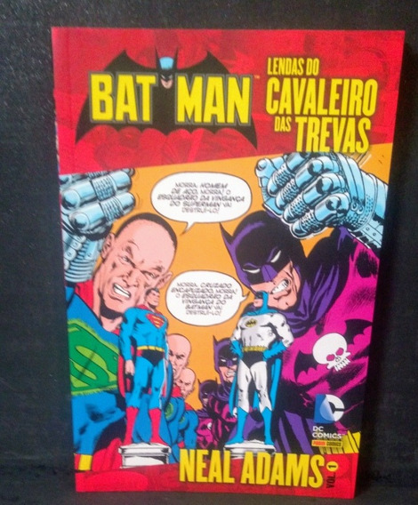 Batman Lendas Do Cavaleiro Das Trevas Neal Adams 1