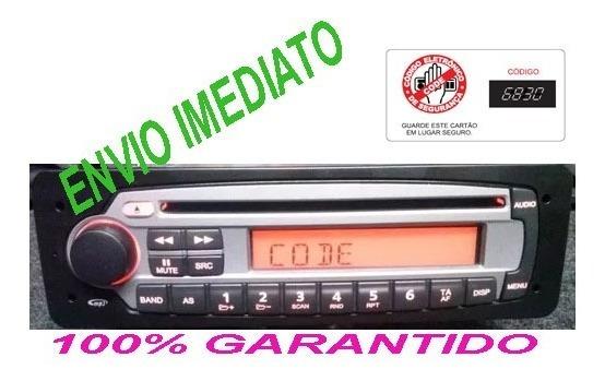 Desbloqueio Do Código Rádio Fiat - Palio - Siena