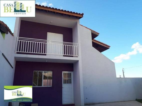 Casa Com 2 Dormitórios À Venda Por R$ 220.000 - Jardim Santo Antonio - Franco Da Rocha/sp - Ca0422