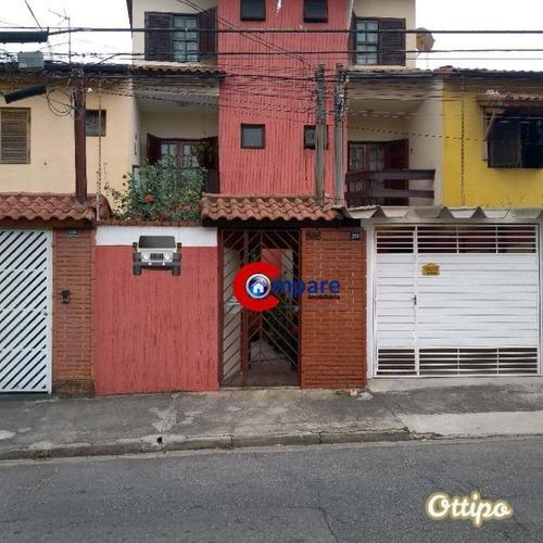 Sobrado Com 3 Dormitórios À Venda, 127 M² Por R$ 630.000,00 - Jardim Vila Galvão - Guarulhos/sp - So2048