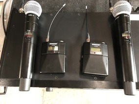 Microfone Ulxd 4d + Ulxd2 + Ulxd1 Shure Digital 534-598 Mhz