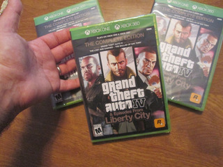 Grand Theft Auto Iv The Complete Edition Xbox One & Xbox 36