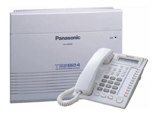 Planta Telefónica Kx-tes824 Con Teléfono - Ip Suministros