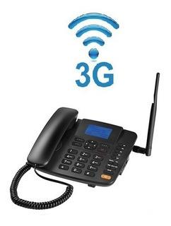 Celular Telefone Fixo Modem 3g Net Ideal Roça Rural Chácara