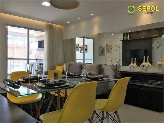 Apartamento Com 2 Dormitórios Para Alugar Por R$ 1.500/mês - Vila São Rafael - Guarulhos/sp - Ap0388