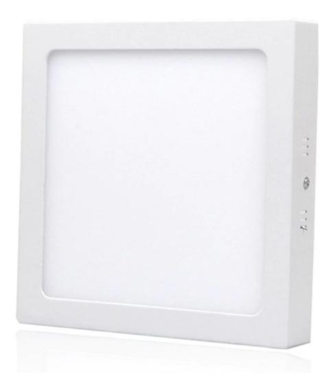 Luminária Led 24w Sobrepor 4000k Branco Morno (kit 10und)