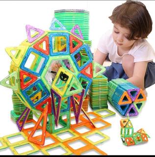 Lego Magnético 3d Didáctico Bloques Construccion Niños