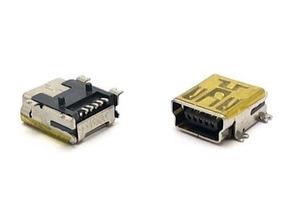Kit Com 10 Conectores V3 Mini Usb 5 Pinos Nf