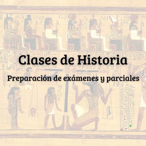 Imagen 1 de 2 de Clases Particulares De Historia Virtuales/presenciales