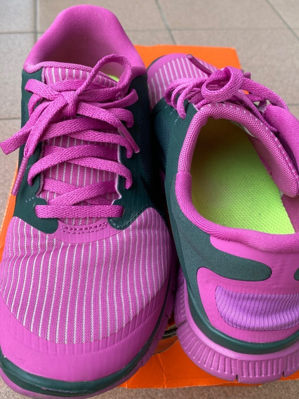 Zapatillas Nike Wmns Mujer Free 4.0 V3 Talle 6.5 Cms 23.5