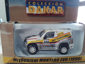 Mitsubishi Montero Evo 1998 Coleção Rally Dakar