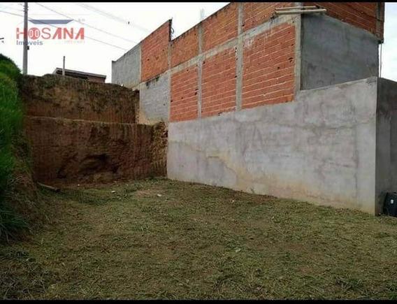 Terreno À Venda, 126 M² Por R$ 90.000 - Residencial Santo Antônio - Franco Da Rocha/são Paulo - Te0324