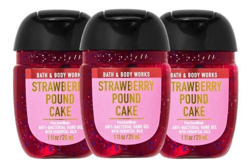 Gel Antibacterial Bath & Body Works Strawberry Pound Cake