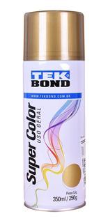Tinta Spray Dourado 350ml Tekbond