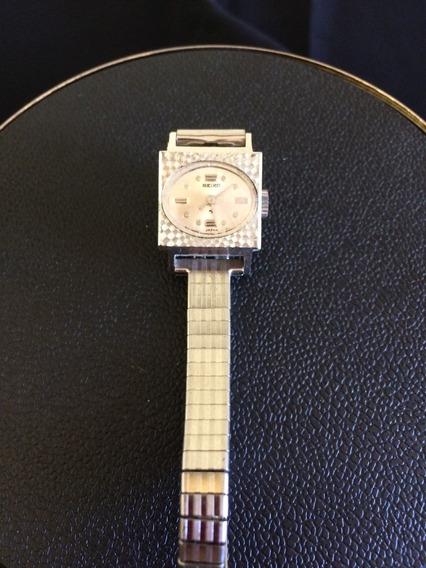 Relógio De Pulso Feminino Seiko Corda 14 K Gf