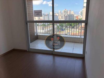 Apartamento Com 3 Dormitórios À Venda, 93 M² Por R$ 530.000 - Encruzilhada - Santos/sp - Ap3324