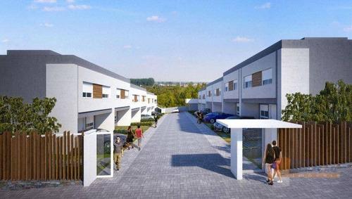 Sobrado Com 2 Dormitórios À Venda, 60 M² Por R$ 233.500 - Charqueadas - Caxias Do Sul/rs - So0309