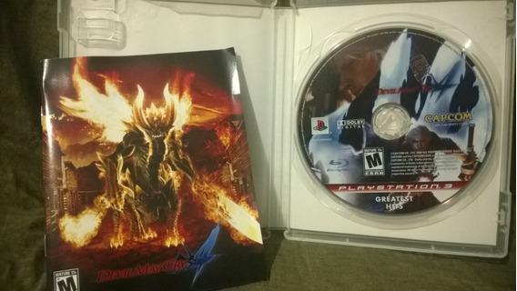 Jogo Game Ps3 Mídia Física Devil May Cry 4