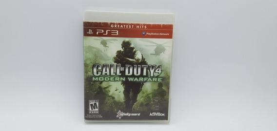Call Of Duty 4 Modern Warfare - Cd Original - Ps3