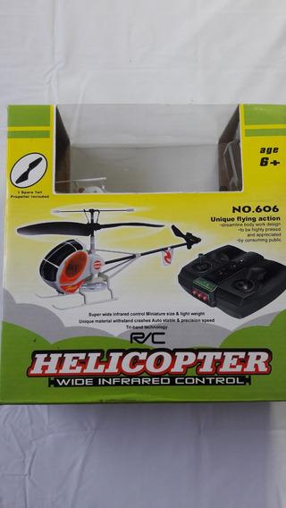 Helicóptero Com Controle Remoto Para Retirar Peças Quebrado.