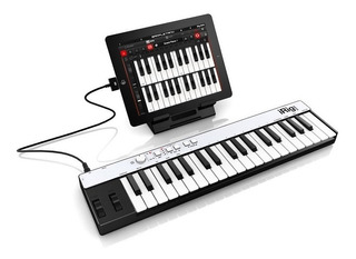 Teclado Controlador Midi Irig Keys Ik Multimedia Android Pc